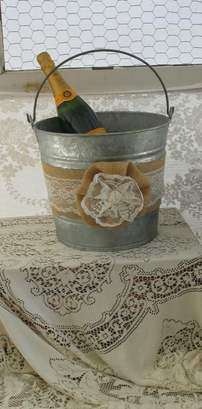 ... Burlap and Lace Wedding Country