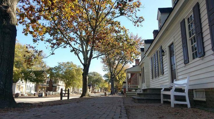 Brick sidewalks - Williamsburg