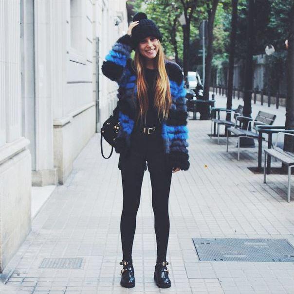 Espectacular Belen Hostalet (IS: @belenhostalet) luciendo nuestro abrigo Netic Diagonal! La mejor manera de combatir el frío!  Gorgeous Belen Hostalet (IS: @belenhostalet) wearing our Netic Diagonal coat! Best way to beat the cold!  Shop > Europe: j.mp/CustoNeticEU | America: j.mp/CustoNeticAM
