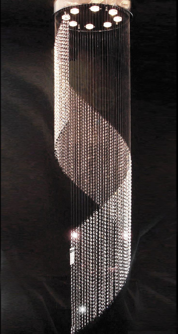 D500mm krystall lysekrone lampen Long Crystal Lamp Crystal Light for ...