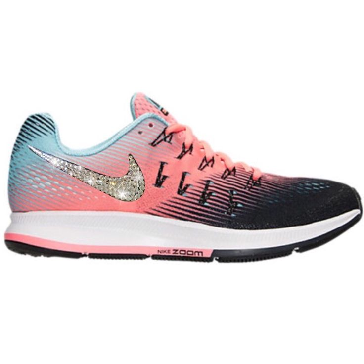 Bling Nike Air Zoom Pegasus 33 Shoes W/ Swarovski
