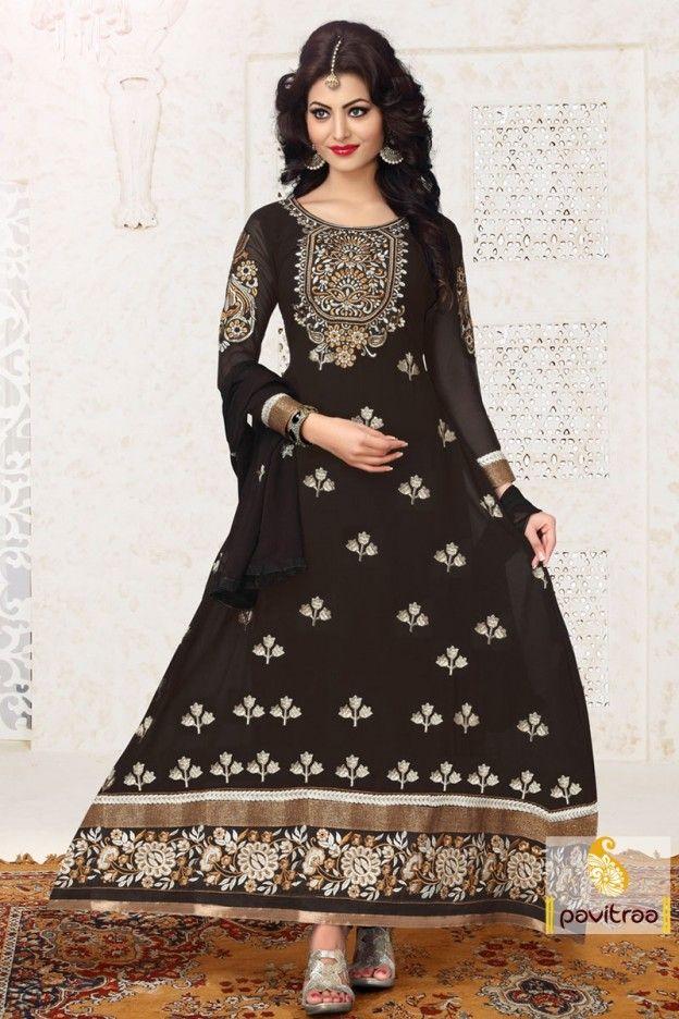 Designer Black Party Wear Salwar Suit