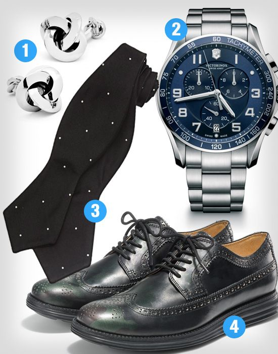 According to Men's Health, our Chrono Classic is the perfect suit accessory for 'The Detail-Oriented Guy'