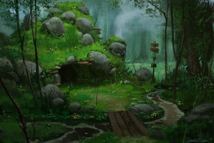Forest Home by =UnidColor on deviantART via PinCG.com