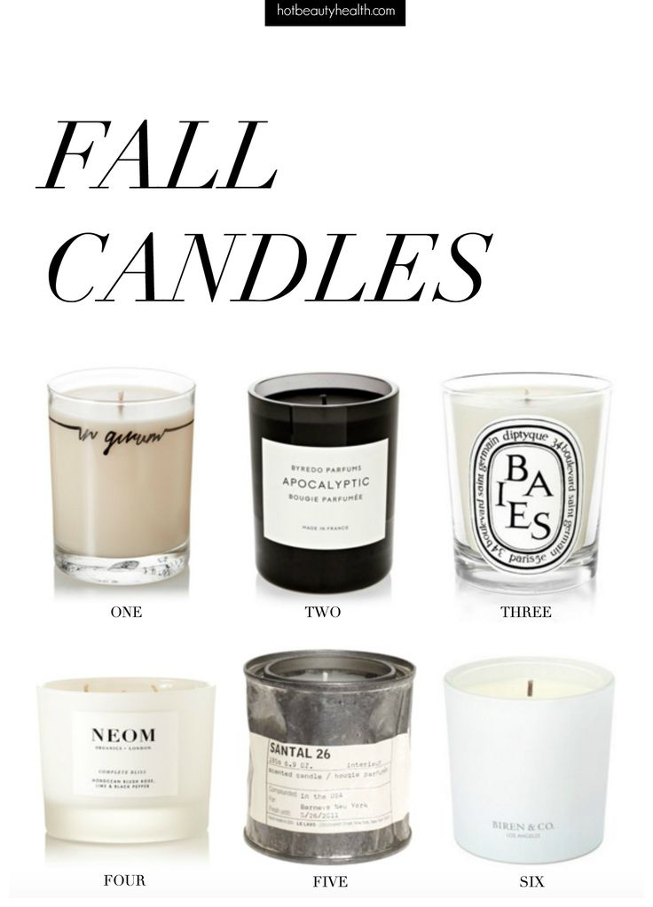Fall Scented Candles | Fall scents, Apartments and Decorating