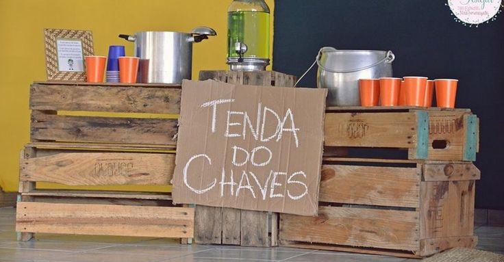 Tema de festa: Chaves                                                                                                                                                                                 Mais