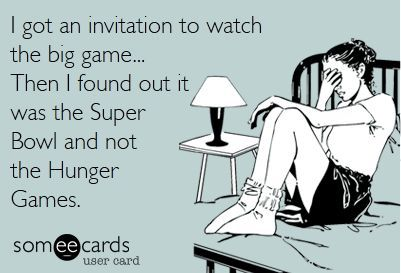 Hunger Games Superbowl ecard
