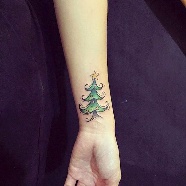 17 Holiday Tattoos You Need to See Now via Brit + Co
