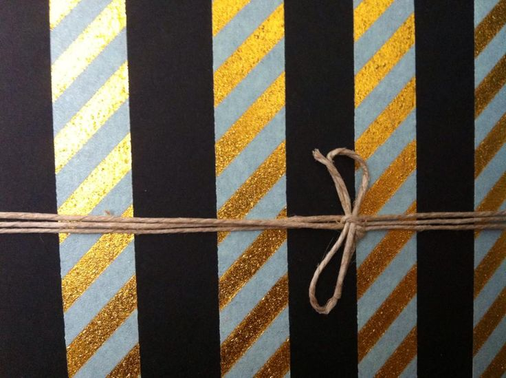 Notebook Stripes Detail