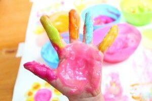 Receta para pintura casera   Blog de BabyCenter por @Carolina Llinas