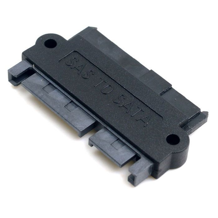 CY SFF-8482 SAS 22 Pin to 7 Pin + 15 Pin SATA Hard Disk Drive Raid Adapter with 15 Pin Power Port. Find the cool gadgets at a incredibly low price with worldwide free shipping here. CY SFF-8482 SAS to SATA Hard Disk Drive Raid Adapter - Black, Computer Cable&Adapter, . Tags: #Computers/Tablets #Networking #Cables #Adapters #Computer #Cable #Adapter
