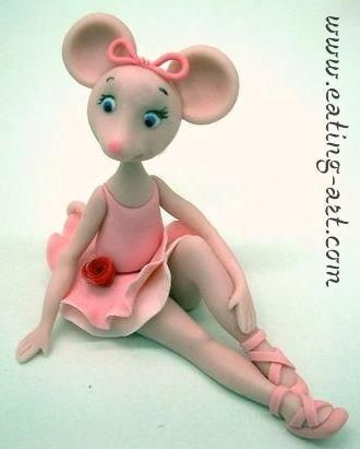 1000 images about angelina ballerina cakes on pinterest for Angelina ballerina edible cake topper decoration sale