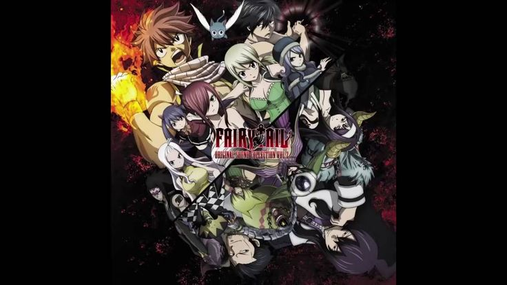 Fairy Tail 2014 OST 2 -  37  - Sad Fight