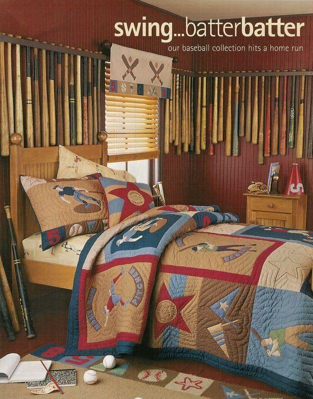 30 best baseball images on pinterest baseball stuff for Baseball bedroom ideas