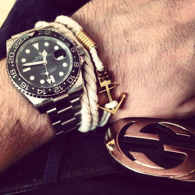 Anchor watches for men
