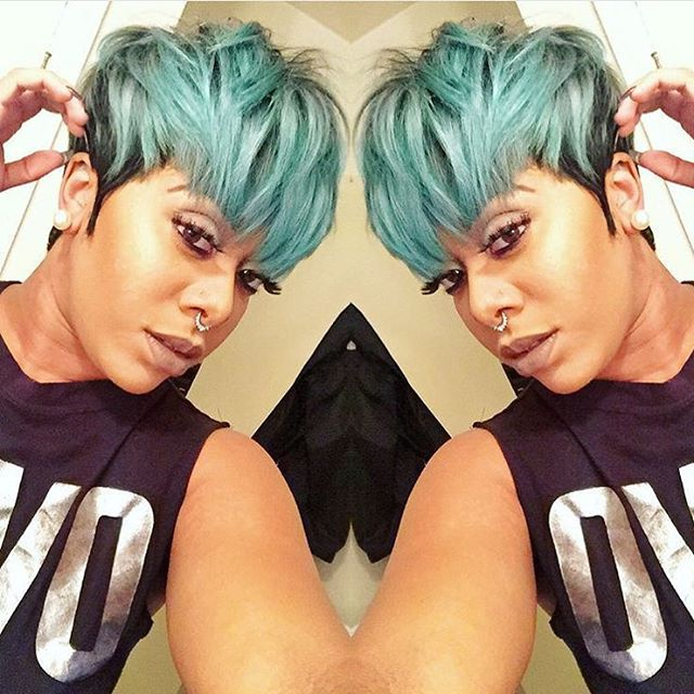 Cool 1000 Ideas About Mushroom Cut Hairstyle On Pinterest Pixie Cut Short Hairstyles For Black Women Fulllsitofus