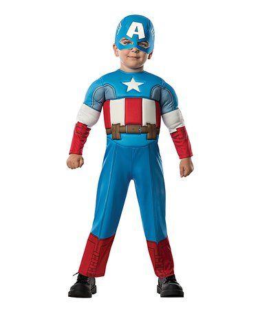 Look at this #zulilyfind! Blue Captain America Dress-Up Set - Toddler #zulilyfinds