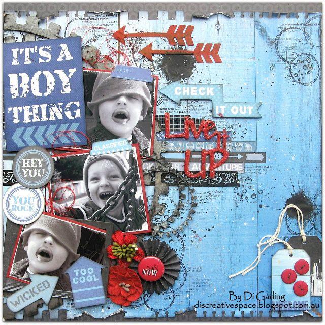 By Di Garling. My blog discreativespace.blogspot.com.au