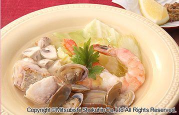 魚介のイタリアンスープ
