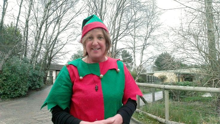 """I decided to take an  """"Elfie""""."""