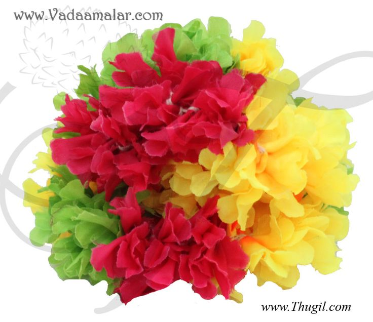 27 best images about artifical garlands and decorations on for Artificial flowers for home decoration india
