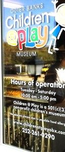 Outer Banks kids museum! Great rainy day (or off-season activity) in OBX and not far from Finis Terre.