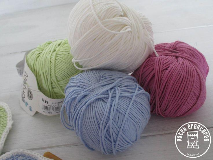 Hilos Natura Just Cotton, geniales para mantitas