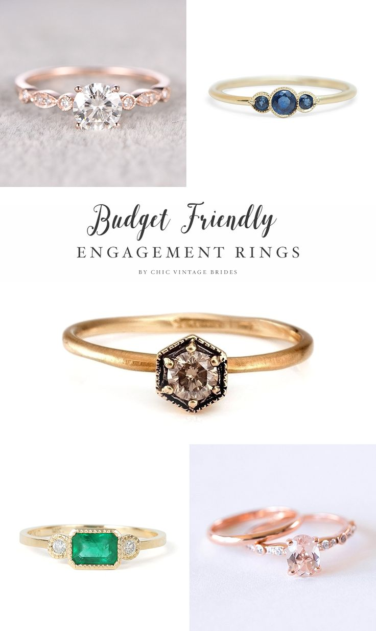 vintage engagement rings affordable wedding rings 21 Engagement Rings EVERYONE Will Swoon Over