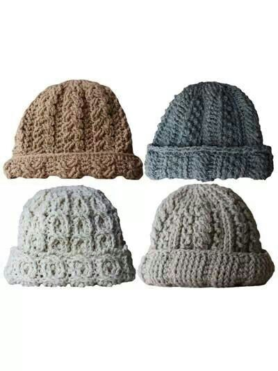 Cute crochet hats
