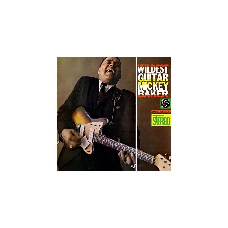 Mickey Baker - Wildest Guitar (Vinyl)