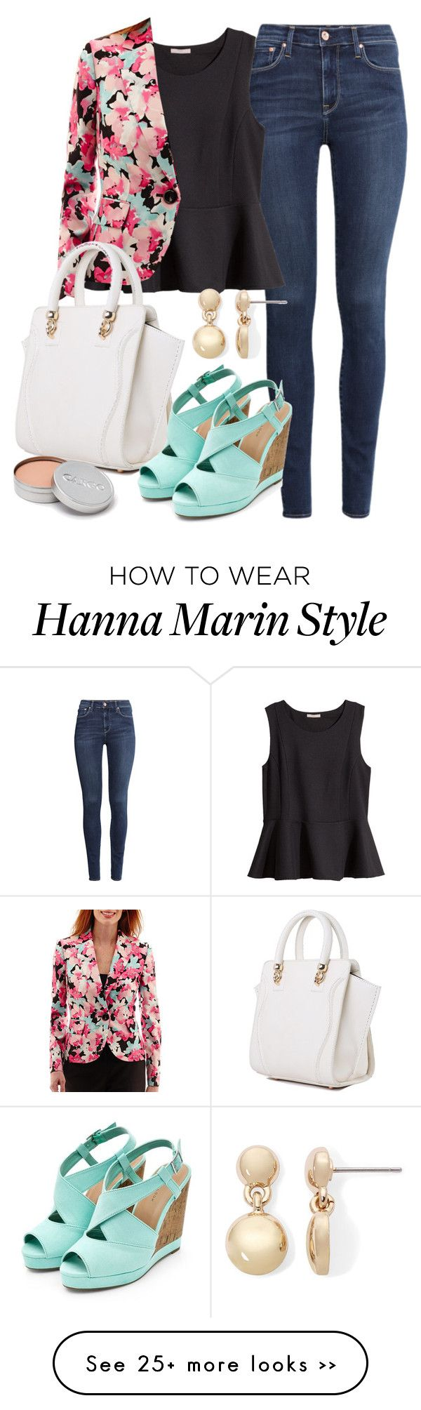 """Hanna Marin inspired outfit with jeans"" by liarsstyle on Polyvore"