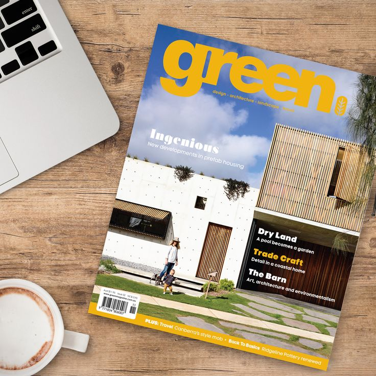 GREEN MAGAZINE – The leading publication for inspirational stories on sustainable design, Green magazine is an inspiring exploration of the latest eco-innovational houses, gardens and products. www.greenmagazine.com.au (Melbourne). THE BIG DESIGN MARKET Melbourne: 2–4 Dec, Royal Exhibition Building $2 entry/kids free www.thebigdesignmarket.com
