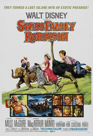 Фильм Швейцарская семья Робинзонов - cмотреть онлайн бесплатно на Экранка.ТВ