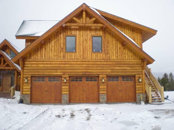 Garage Doors Love These Exterior Of Rustic Cabin