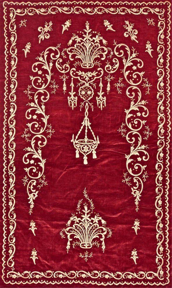 The Prayer Rug, 19th Century (Osmanlı Dival İşi Seccade)