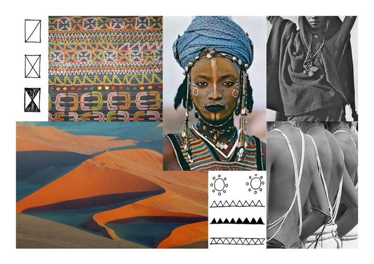 PEOPLE OF THE TABOO_  Inspired by the Wodaabe people  Nomads of the Sahel desert  Birds of the Wilderness