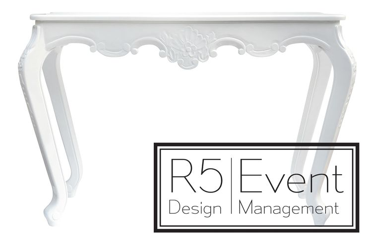 Chelsea Credenza Table- available for rent for your next event from R5 Event Design