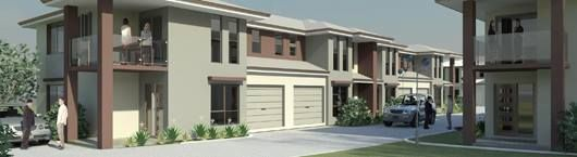 Medium density units 15km outside Brisbane in a 22 unit development. Land previously housed an old cottage and backs onto a park. http://www.renovatingperth.com.au/