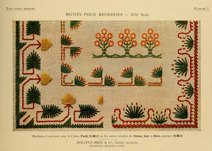 Motifs pour broderies. (IIIme série) No. 5