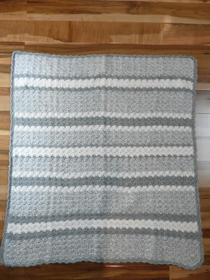 Baby Blanket Crochet Bernat Softee Yarn Projects To