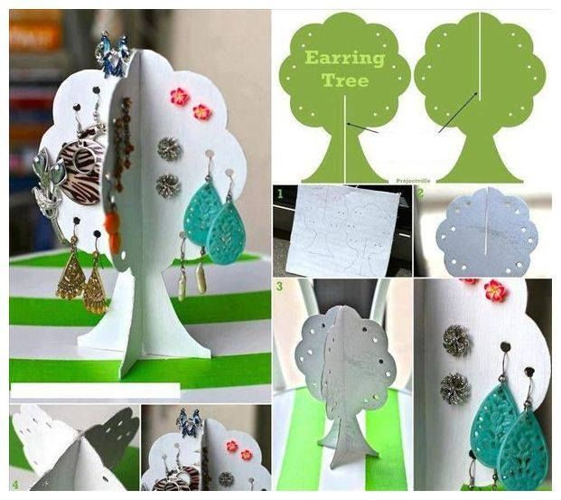 DIY Earring Tree