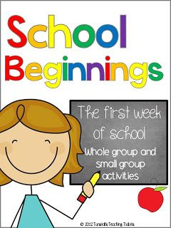 The first week of school!