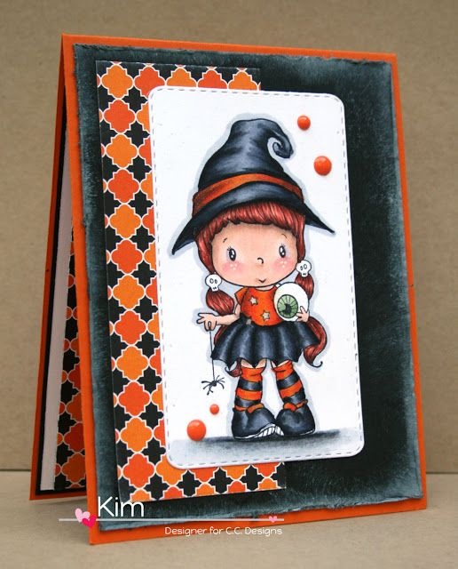 C.C. Designs Swiss Pixie Little Witch Lucy by Kim O'Connell