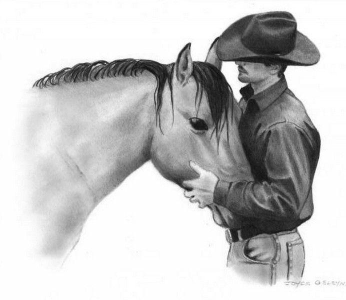 Dibujos de caballos a lapiz - Imagui   WESTERN STYLE-ESTILO ...