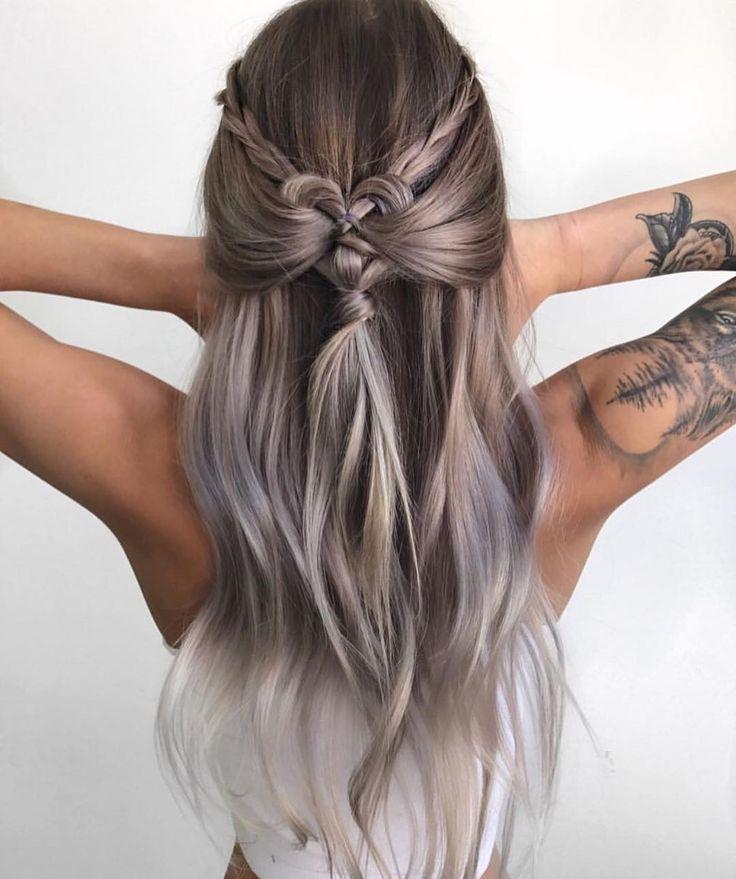 10 geflochtene Frisuren für langes Haar – Hochzeiten, Festivals & Urlaub Haar Ideen  #festivals #frisuren #geflochtene #hochzeiten #ideen #langes #urlaub