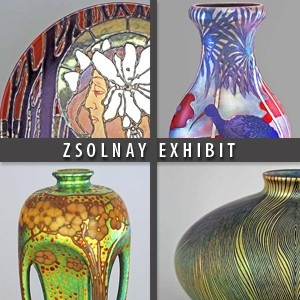 Zsolnay exhibition, art nouveau in pecs, Hungary