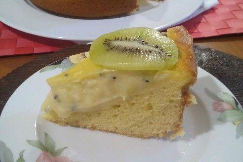Torta nua al kiwi