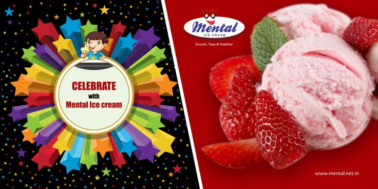 The fight for the last dose of ice cream is brutal but the victory is so much sweeter. Celebrate with Mental Ice cream!!!