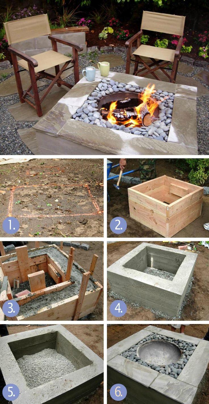 Il commence par placer des briques en rond, puis il se met à creuser: le résultat vous épatera vraiment! - Trucs et Bricolages