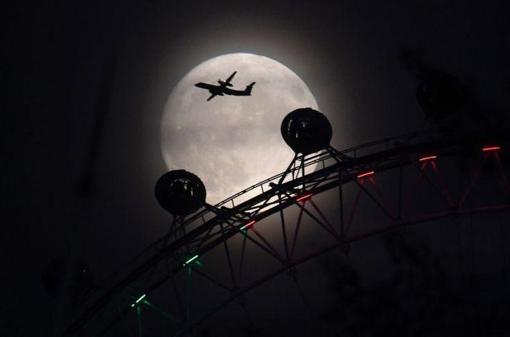 London, U.K. Super moon 2016